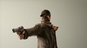 Ubisoft watch dogs game characters aiden pearce wallpaper
