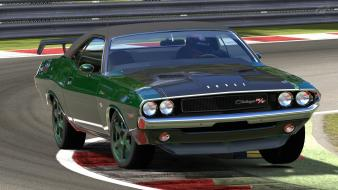 Video games gran turismo 5 dodge challenger r/t wallpaper