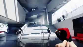 Video games mirrors edge futuristic faith connors 2 wallpaper