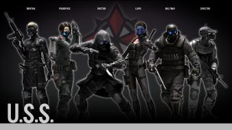 Video games resident evil characters operation raccoon city wallpaper