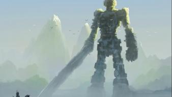 Video games shadow of the colossus wallpaper