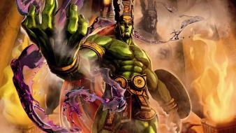 Video games street fighter x tekken ogre wallpaper