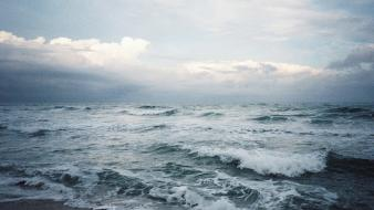 Water ocean waves waterscapes sea Wallpaper