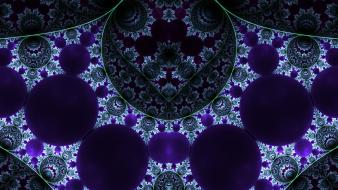 Abstract fractals digital art wallpaper