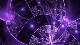 Abstract fractals purple fractal wallpaper