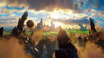 Air balloons oz: the great and powerful wallpaper