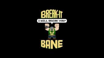 Batman bane wreck it ralph break wallpaper