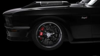 Black ford mustang obsidian sg-one wallpaper
