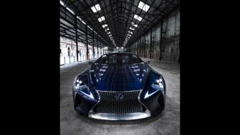 Blue lexus concept art static lf-lc wallpaper