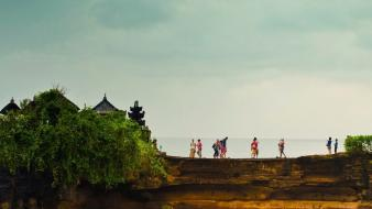 Bridges indonesia travel bali tourist rock formations sea wallpaper