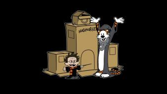 Calvin hobbes and harry potter crossovers hogwarts Wallpaper