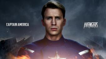 Captain america the avengers chris evans wallpaper