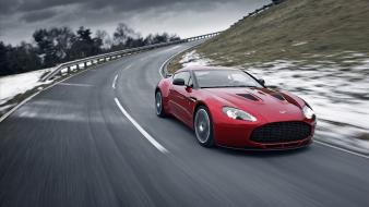 Cars aston martin front angle view wallpaper