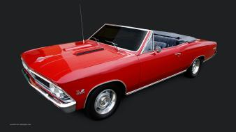 Cars chevelle vehicles simple background 1966 classic Wallpaper