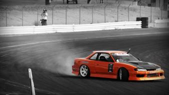 Cars drifting vehicles nissan silvia s13 wallpaper