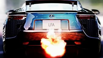 Cars lexus lfa wallpaper