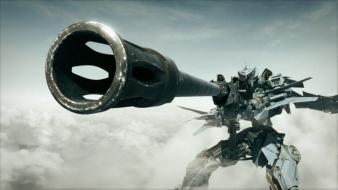 Cgi sniper rifles spaceships battles screens planzet Wallpaper