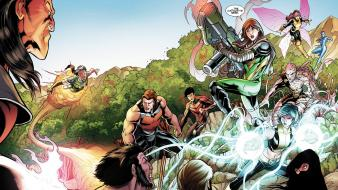 Comics x-men wolverine rogue hope summers wallpaper