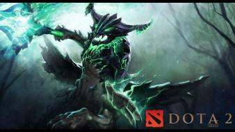 Dota creatures artwork lighting 2 outworld destroyer wallpaper