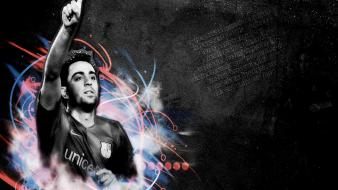 Fc barcelona xavi hernandez barça football stars player wallpaper