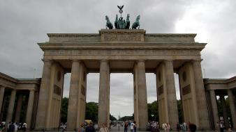 Germany berlin brandenburg gate wallpaper