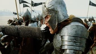 Helmets armour faramir return king david wenham wallpaper