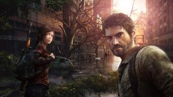 Last of us joel ellie facebook covers wallpaper