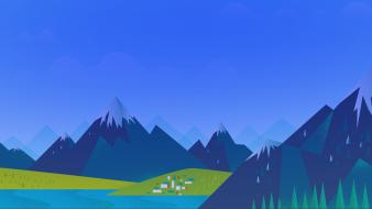 Minimalistic default google now wallpaper