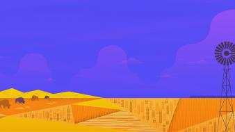 Minimalistic plains google now wallpaper