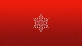 Minimalistic red stars christmas wallpaper