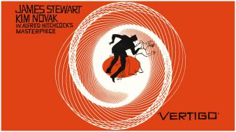 Movies film hollywood posters alfred hitchcock vertigo wallpaper