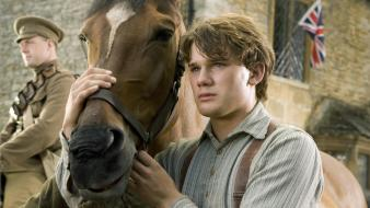 Movies horses posters war horse jeremy irvine Wallpaper
