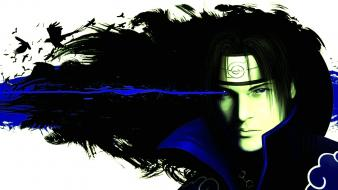 Naruto: shippuden akatsuki uchiha itachi color splash wallpaper