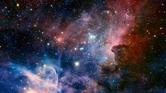 Outer space nebulae carina nebula wallpaper