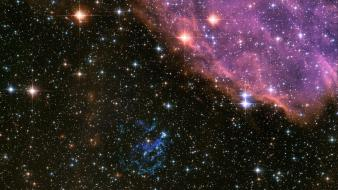 Outer space stars nebulae hubble wallpaper