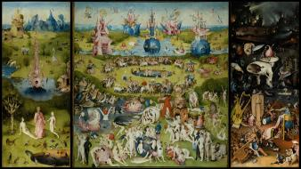 Paintings hieronymus bosch wallpaper