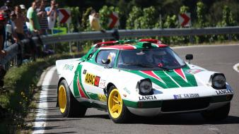 Rally lancia stratos hf group b car wallpaper