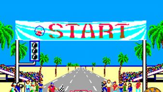 Retro games outrun sega master system Wallpaper