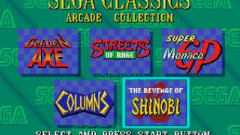 Retro games streets of rage columns sega wallpaper