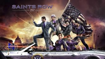 Saints row washington volition gangsters president 4 wallpaper