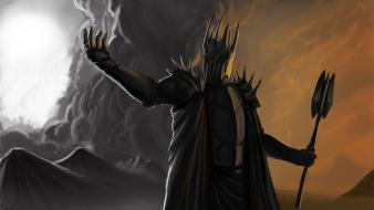 Sauron the lord of rings artwork Wallpaper