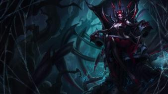 Spiders champions online riot moba elise game wallpaper