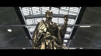 Statues watching pursuit gesaffelstein wallpaper