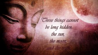 Sun moon quotes truth wallpaper
