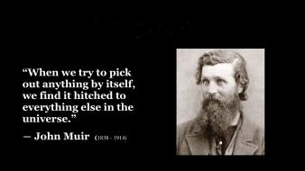 Text quotes writers literature john muir wallpaper