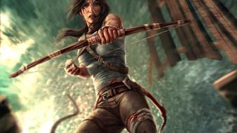 Tomb raider lara croft 2013 Wallpaper