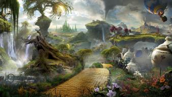 Trees oz: the great and powerful wallpaper