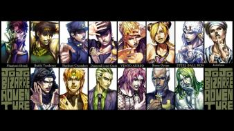 Vento aureo stone ocean steel ball run wallpaper