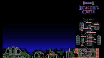 Video games castlevania retro 3 wallpaper
