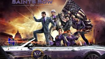 Video games saints row iv wallpaper